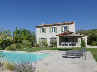 Photo for Holiday rental with pool for 8 people in Caromb in the Vaucluse