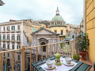 Photo for Beautiful 2bdr apartment in the heart of Naples
