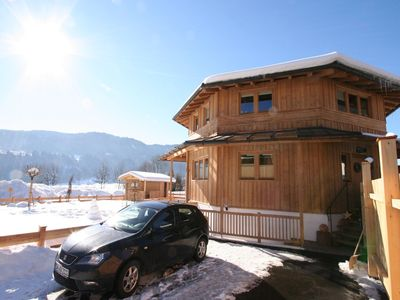 Photo for This modern holiday home is beside Austria's largest ski-area.