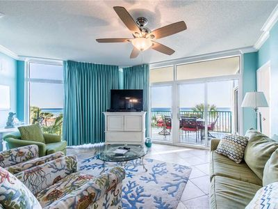 Photo for Luxurious 3 BR Beachfront Condo at Jade East!