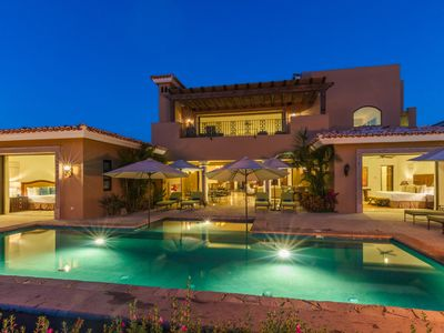 Photo for Gorgeous Modern Villa w/ Private Pool, Resort Amenities, 2 Golf Carts Included!