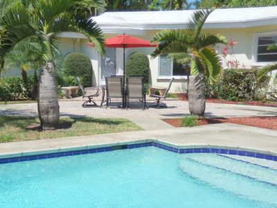 Photo for Stately Van Buren Hollywood Sanctuary 3/2.5 for 10 guests Heated Pool