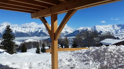 "Photo for Chalet ""Les Aiguilles"" 8 beds - at the foot of the slopes - La Toussuire"