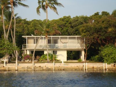 Photo for Waterfront, dockside, direct to ocean - a touch of sweet Caribbean in the Keys
