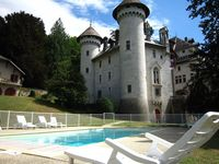 The castle is located in an idilic setting and perfect for a relaxing holiday. W ...