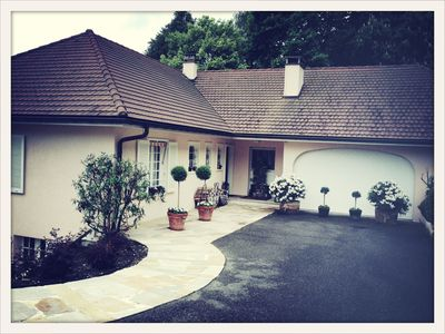 Photo for Working Hiking Skiing Villa & Pool close to Geneva & neighboring Alps