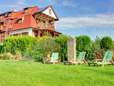 Photo for Holiday apartment with garden and children's playground