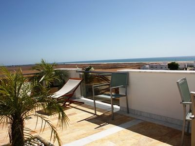 Photo for new luxury apartment with wonderful view on the beach, sea and Marocco