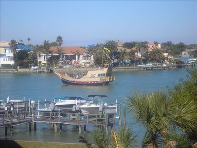 View of Boca Ciega  Bay from the balcony
