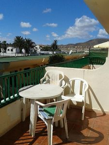 """Photo for Apartment a short walk away (232 m) from the """"Playa las Clavellinas"""" in Corralejo with Pool, Terrace, Washing machine (434672)"""