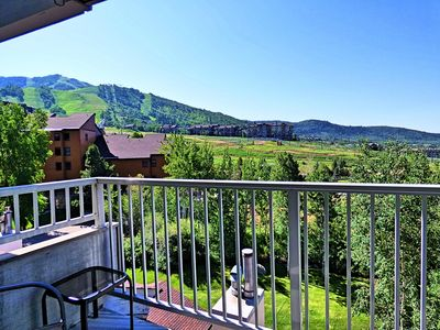 Photo for Private Deck Mountain Views Babbling Creek Sleeps 4