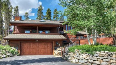Photo for Little Moose Lodge - 4 Bed/3Bath House Tucked in the Mountains W/Hot Tub