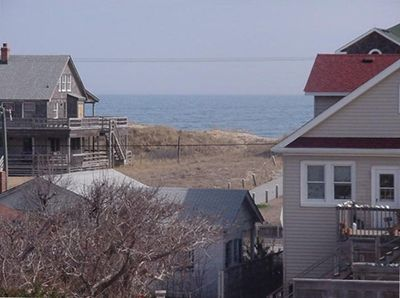Views from our deck and back porch.. 2 min walk to beach and fishing pier.