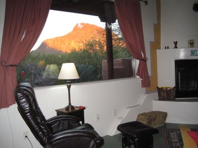 Photo for Beautiful house nestled against Tucson Mt. Park; mt. views in quiet, scenic area