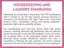 Housekeeping and Laundry Standards