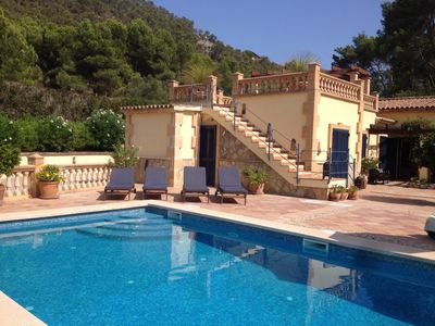 Photo for Villa, private pool, set in an acre of land in Port Andratx
