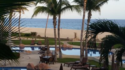 Photo for Gorgeous Beachfront 2Bd/ 2Ba In Luxury Complex - swim with the Dolphins!