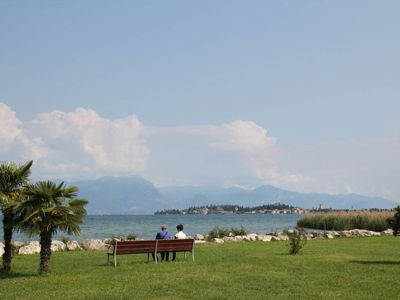 Photo for Apartment Residence Poggio al Lago (SIR103) in Sirmione - 5 persons, 1 bedrooms