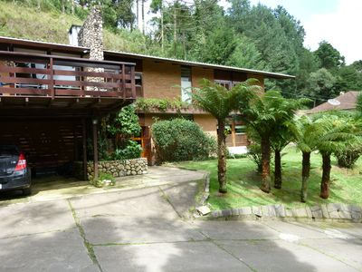 Photo for House in Campos do Jordão, come and enjoy the cold of the mountain ......
