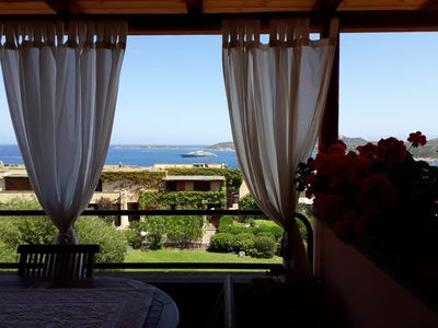Photo for One bedroom apartment with terrace overlooking the sea - Costa Smeralda