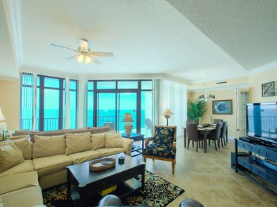 """Photo for email for GREAT Spring rates! """"DIRECT GULF FRONT"""" sleeps 10"""