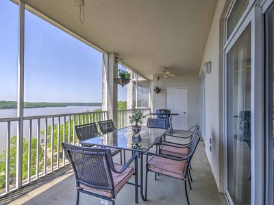 Photo for Lakefront Osage Beach Condo w/Porch & Pool Access!