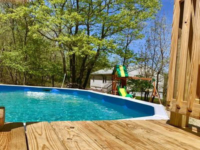 Photo for Beautiful, peaceful-4BDR house with hot tub, private swimming pool.