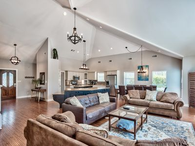 Photo for Luxury Beach Directly across from Beach,Private Pool,Gulf Views,Huge Game Room