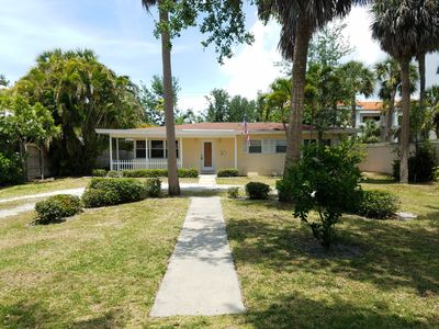 Photo for Olde Naples Vacation Pool Home -Walk to the Beach!