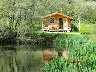 Photo for *** 20%EASTER DISCOUNT*** Cosy, Stylish Swedish Lodge In Private Lakeside Garden