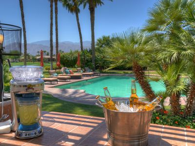 Photo for THE PRIVATE PALMS - 3/4 ACRE OF PRIVACY-55FT POOL