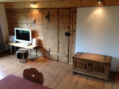 Photo for Apartment in a chalet in quiet mountain village onbly 9km from Interlaken.