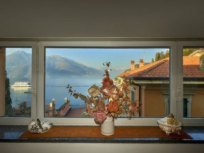 Photo for Apartment in the center of Varenna with Air conditioning, Parking, Washing machine (691622)
