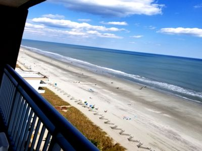 Photo for Beautiful 2 Bed, 2 Bath Oceanfront Condo with Amazing Ocean View!