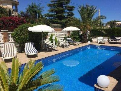 Photo for Nice house with private pool 300m from the Beach - Miami Platja