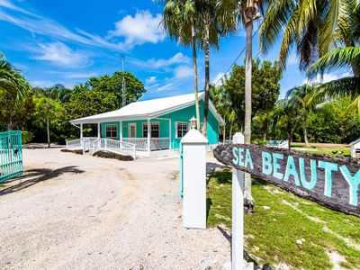 Photo for Sea Beauty: ADA-Friendly Island Cottage w/ 300-feet of Private Beach, Hammocks, Cabanas, & Kayak
