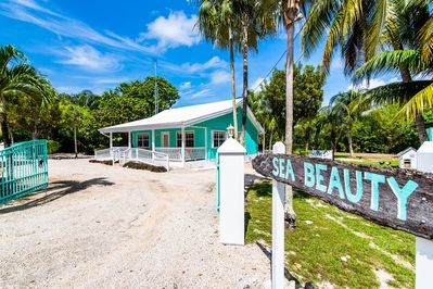 Welcome to Sea Beauty! This cozy cottage is a guest favorite and one of the few island homes that is wheelchair friendly.