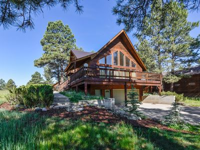 Photo for NEW LISTING! Mountain view home w/ deck & national forest access!