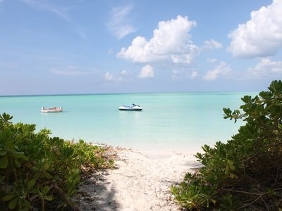 Photo for Paradiso Oasis - Beautiful Beachfront Oasis on Secluded Island in the Bahamas!