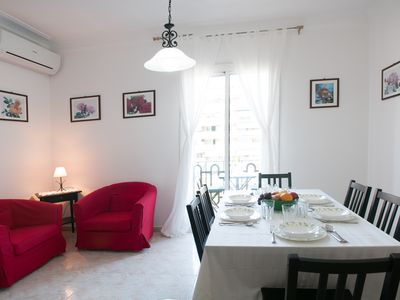 Photo for Perfect location: 2 Double Bedrooms, 2 Balconies, Free WiFi.