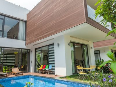 Photo for OFFER 20%@Royal Bird Villa 2 Bedrooms in Flamingo Dai Lai Resort for Family