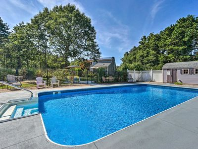 Photo for Mashpee House w/Pool, Fire Pit & Furnished Patio!