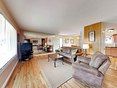 Living Room - Welcome to Cottonwood Heights! Your rental is professionally managed by TurnKey Vacation Rentals.