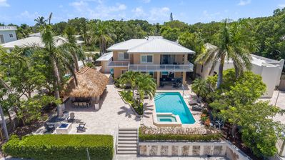 Photo for Beautiful Key Largo Resort Home w/ Pool, Hot Tub, Tiki, Fire Pit