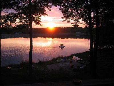 Photo for Vibrant, Colorful, Lakefront w/ Breathtaking Sunsets and Fun-Filled Water Craft!