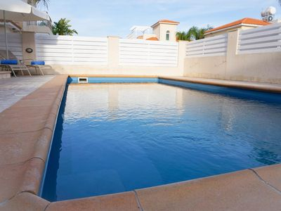 Photo for Villa Katia - Modern Villa with all En suite bedrooms, BBQ, WIFI and UK Channels. 600 Meters from the Beach