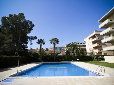 Photo for AQUA 3 with communal pool, beach at 200m