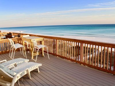 Photo for Beachfront Paradise A - SNOWBIRDS - $1995.00/month - RIGHT ON BEACH