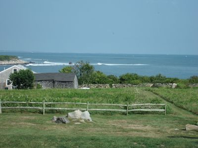 Beautiful Water View of Secluded Cove and Rhode Island Sound