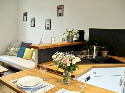 Photo for ** Events & Holidays ** 2 rooms within 10 minutes walk from Palace / Port / Beaches!